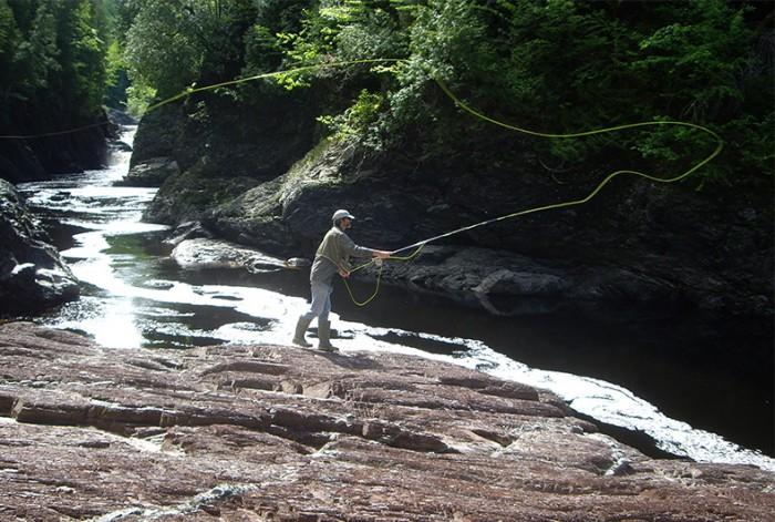 Rivière à Saumon